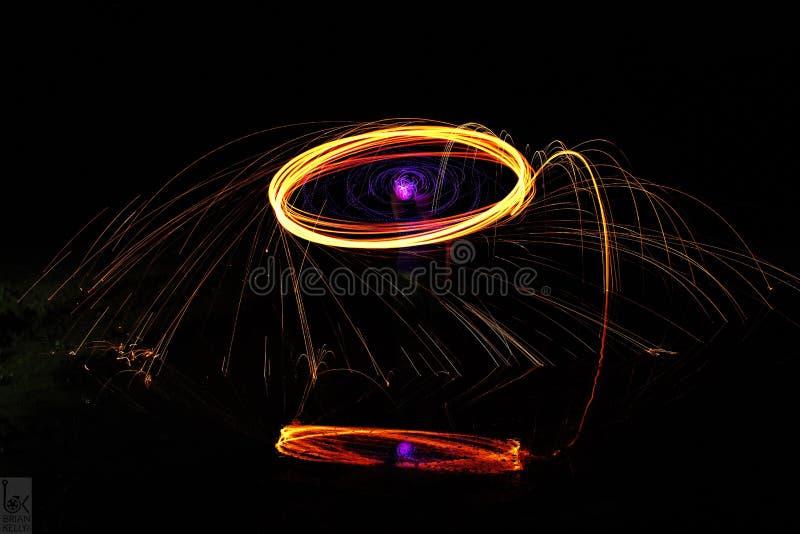 Кольцо огня стоковое фото rf