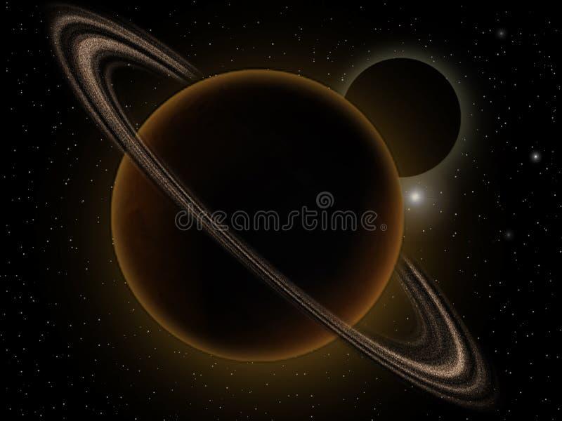кольцо планет бесплатная иллюстрация