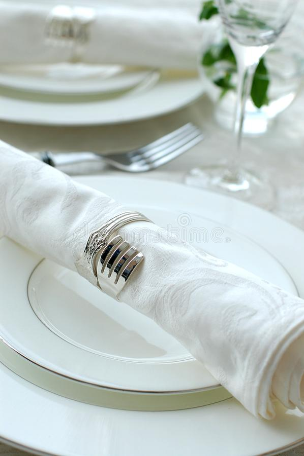 кольцо салфетки стоковое фото