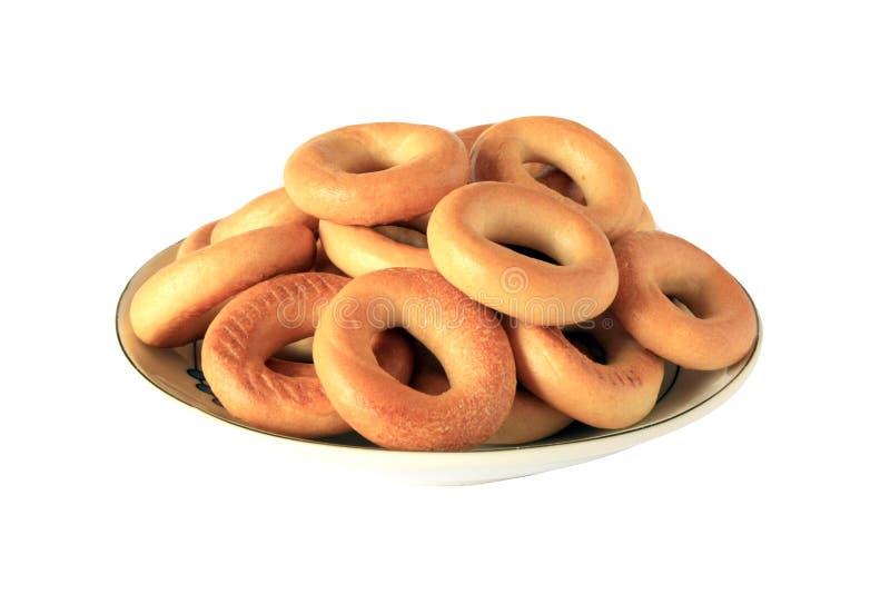 кольцо тарелки хлеба стоковое фото