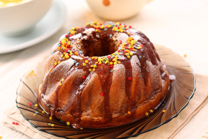 кольцо торта стоковая фотография