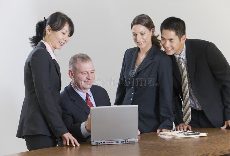 команда деловой встречи стоковые фотографии rf