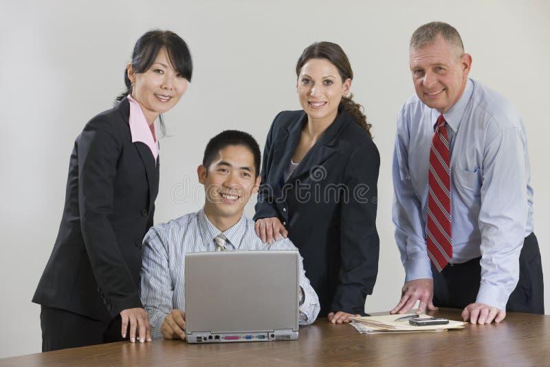 команда деловой встречи стоковое фото