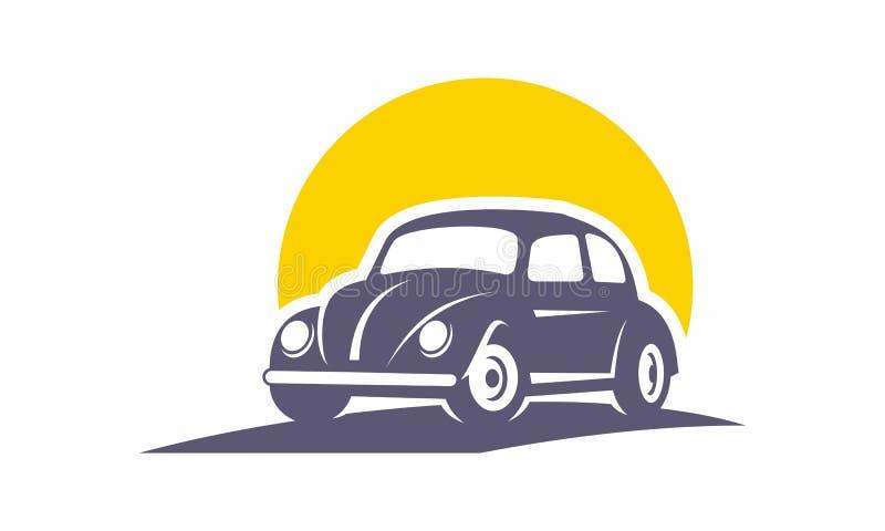Команда классического логотипа автомобиля ретро стоковые фотографии rf