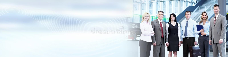 команда мегафона человека повелительницы кофе дела стоковая фотография rf