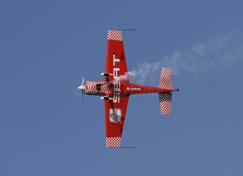 команда места гонки быка воздуха красная стоковая фотография rf