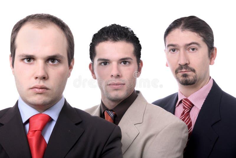 команда портрета дела стоковое изображение rf