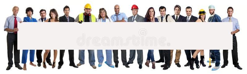 Команда работников стоковая фотография rf
