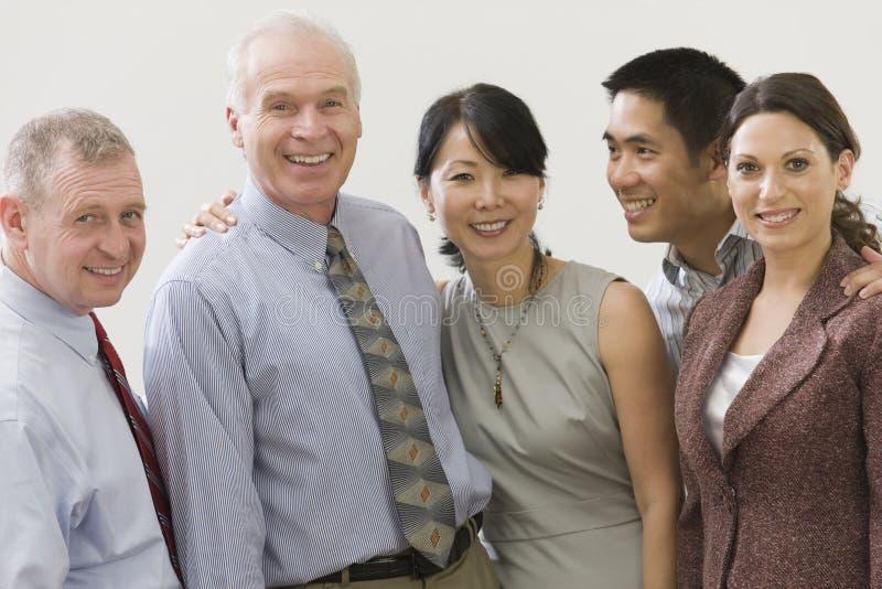 команда старшия менеджера стоковое фото