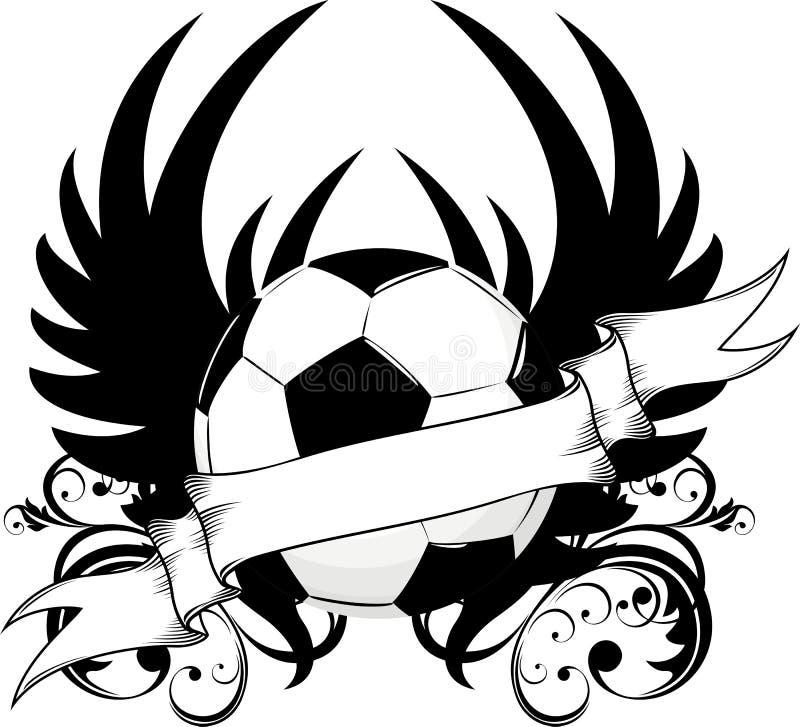 команда футбола логоса иллюстрация штока
