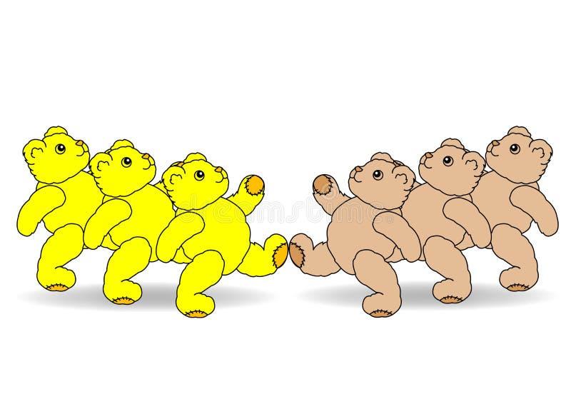 команды иллюстрация вектора
