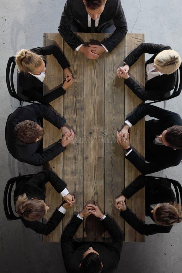 команда деловой встречи стоковое фото rf