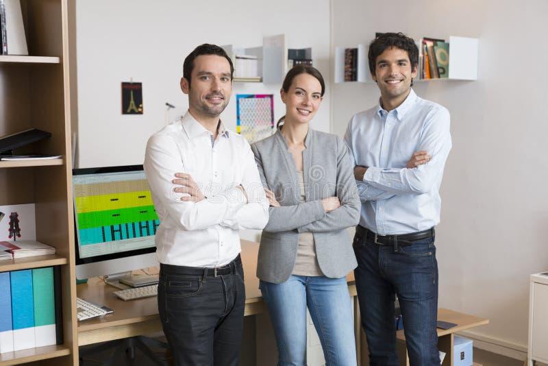 команда офиса дела успешная стоковая фотография
