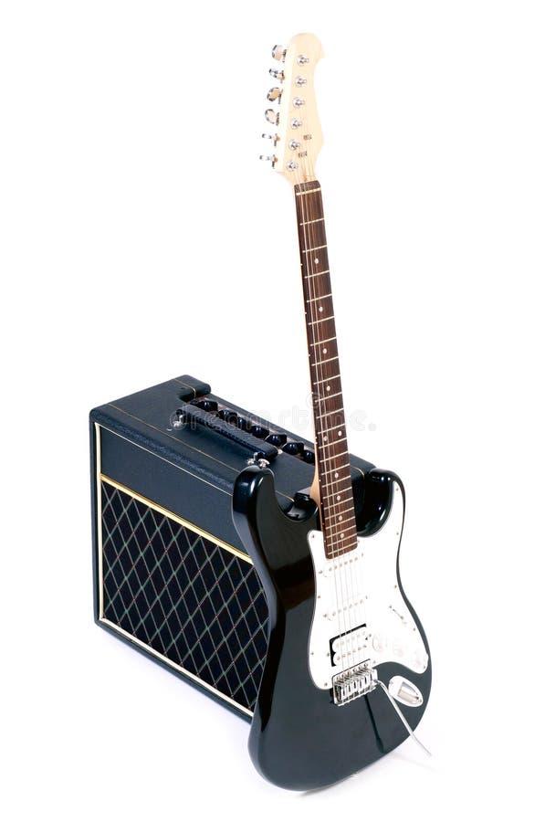 Комбинировано и гитары стоковые изображения