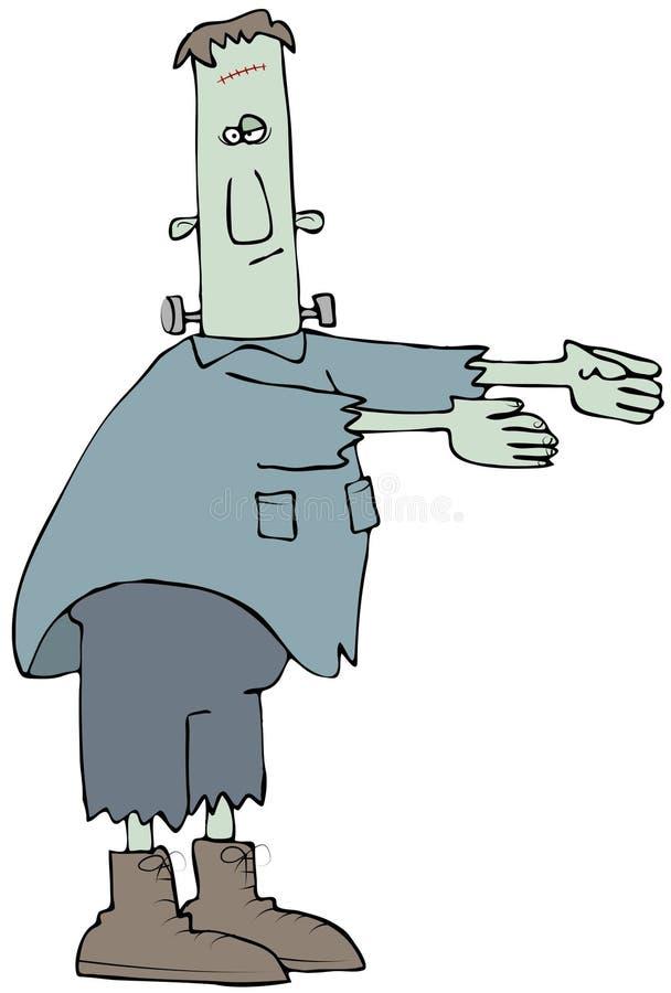 комичное frankenstein бесплатная иллюстрация