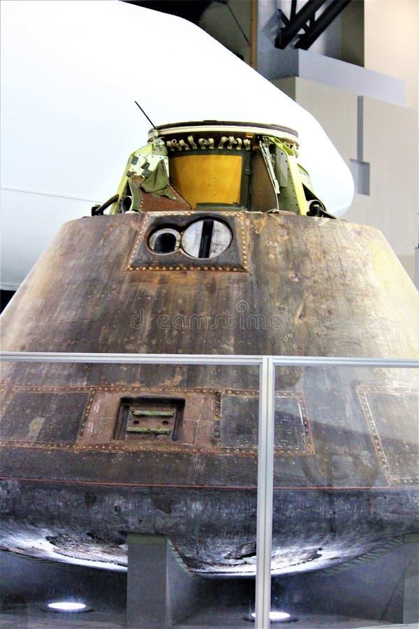 Коммандный модуль Аполлона 15 стоковые фото