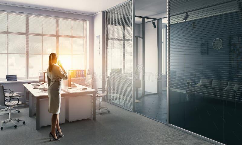 Download коммерсантка ее офис Мультимедиа Стоковое Фото - изображение насчитывающей офис, профессионал: 81809136