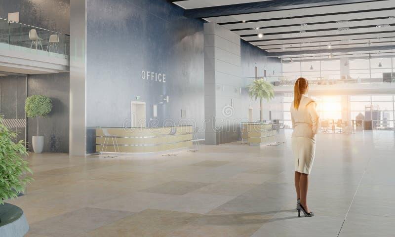 Download коммерсантка ее офис Мультимедиа Стоковое Изображение - изображение насчитывающей карьера, будущее: 81809139