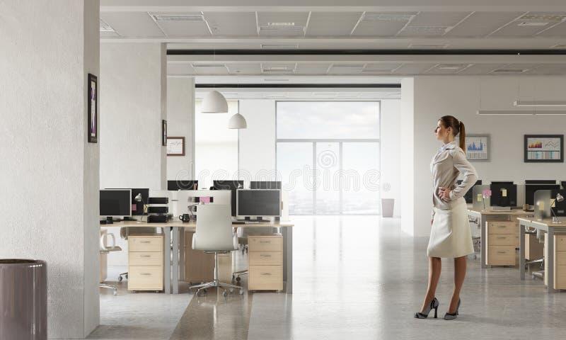 Download коммерсантка ее офис Мультимедиа Стоковое Изображение - изображение насчитывающей маркетинг, успех: 81809173