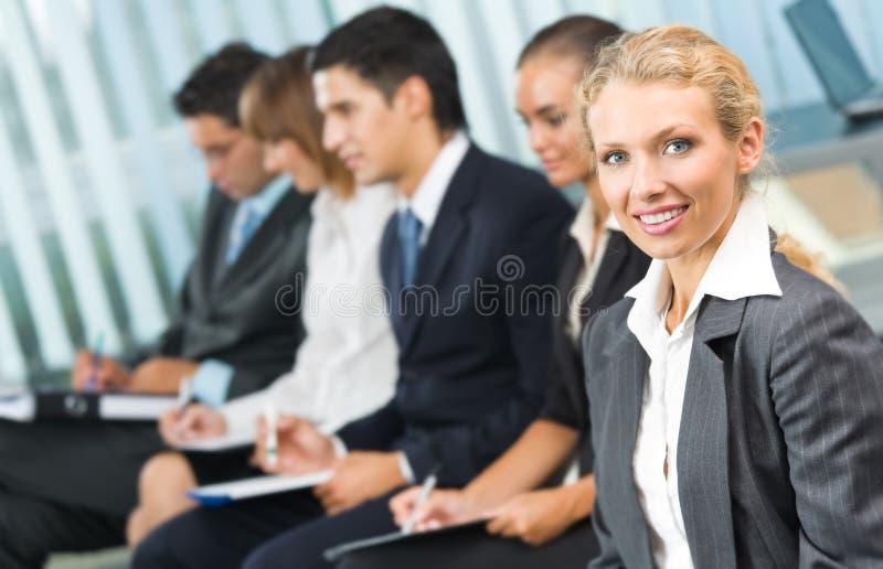 коммерсантка businessteam стоковые фотографии rf