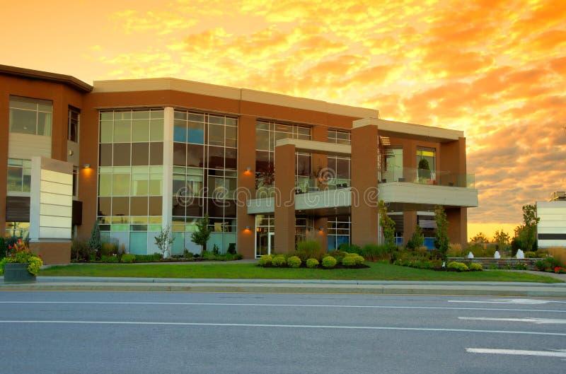 Коммерчески здание стоковые изображения rf