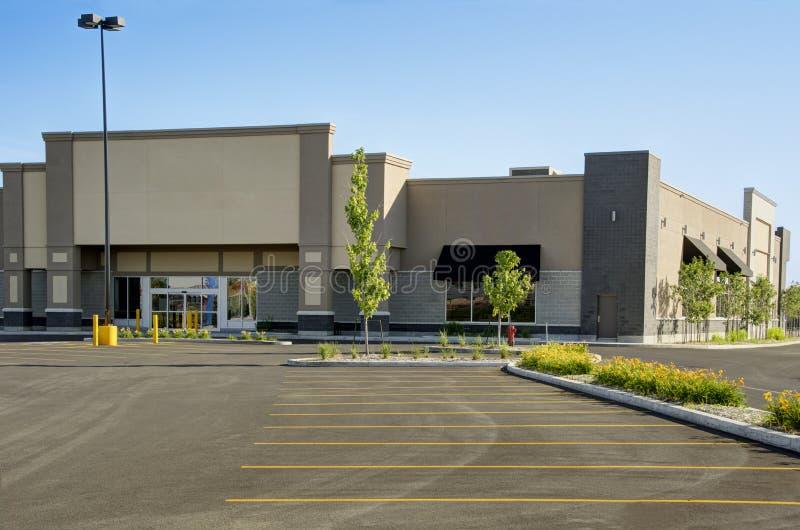 Коммерчески здание стоковое изображение