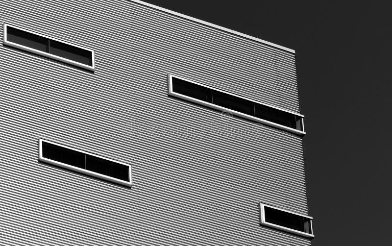 Коммерчески здание стоковая фотография rf