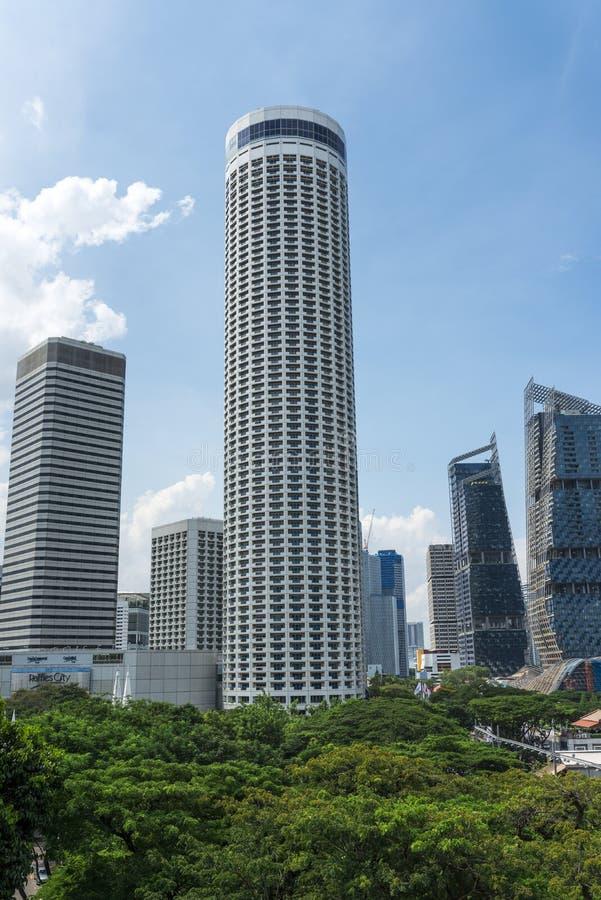 Коммерчески здание стоковое изображение rf