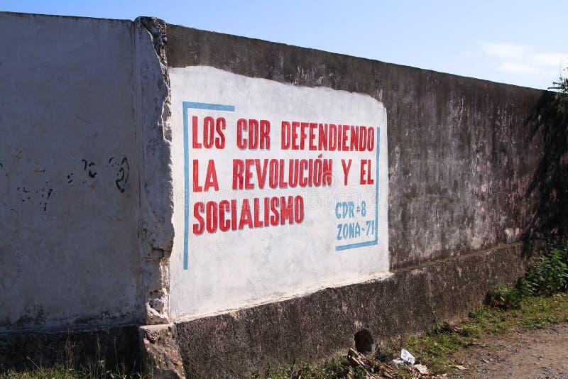 Коммунизм в Кубе стоковые изображения