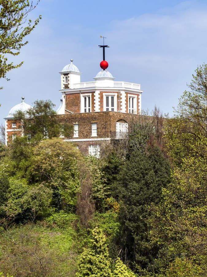 Комната восьмиугольника королевской обсерватории в Гринвиче стоковые фото