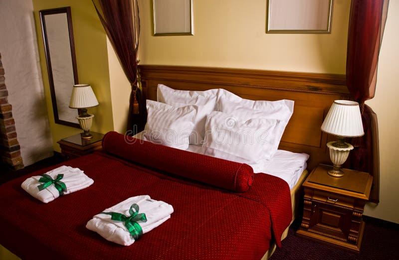 комната гостя роскошная стоковое изображение