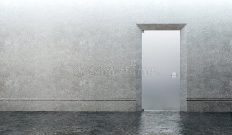 комната двери пустая стоковое фото rf