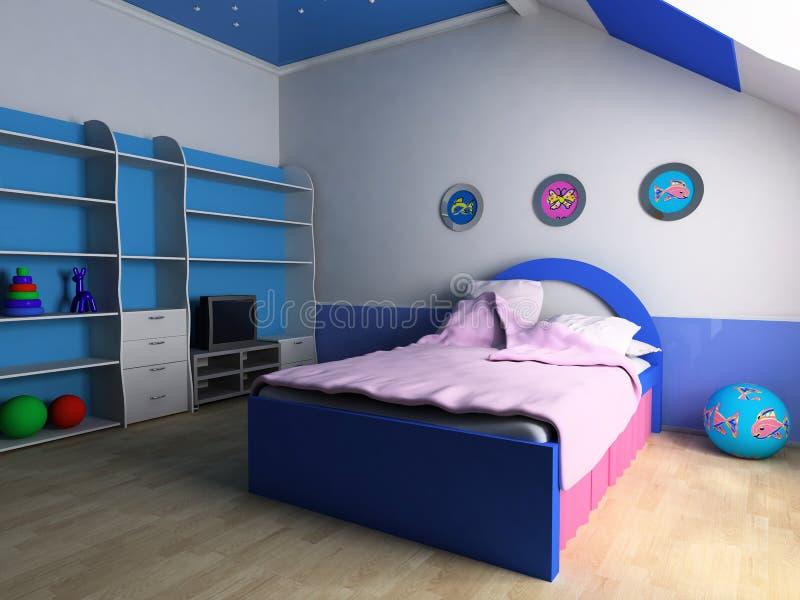 комната детей s стоковые фото