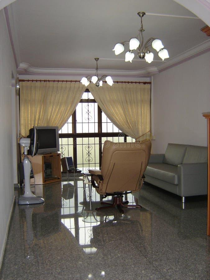 комната квартиры живущая стоковые изображения rf
