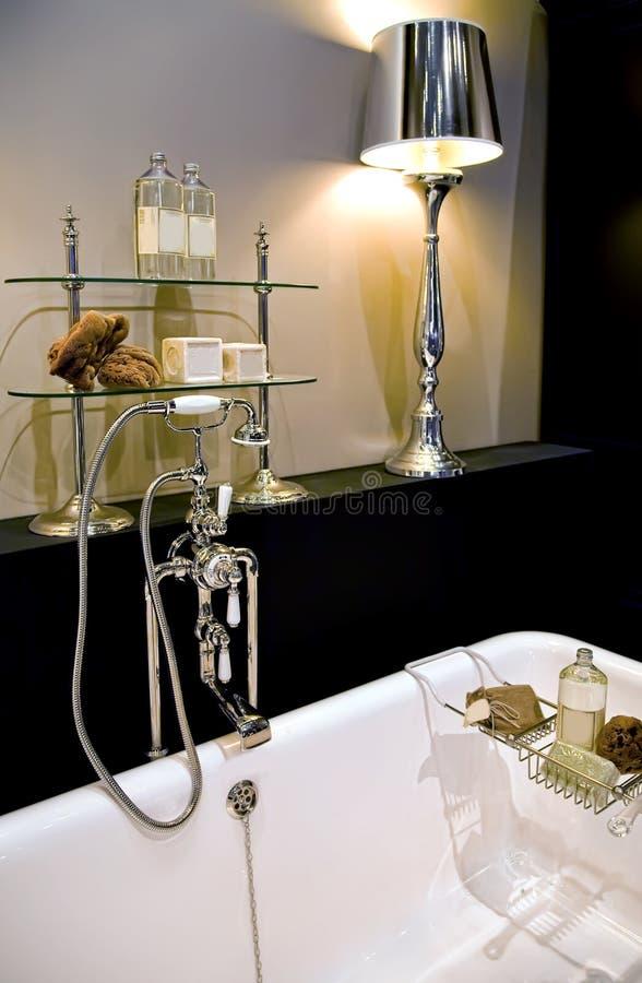 комната классики ванны стоковая фотография rf