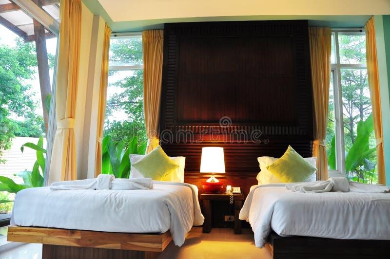 комната кровати стоковые фотографии rf