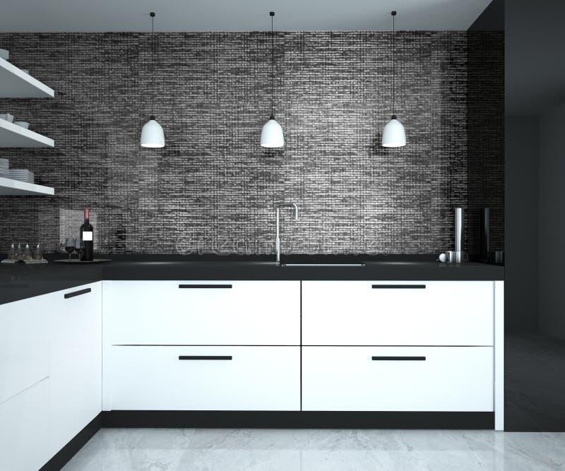 Комната кухни стоковая фотография rf
