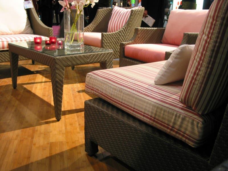 комната мебели живущая стоковое фото rf