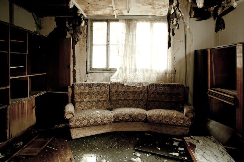 комната пожара стоковые изображения rf