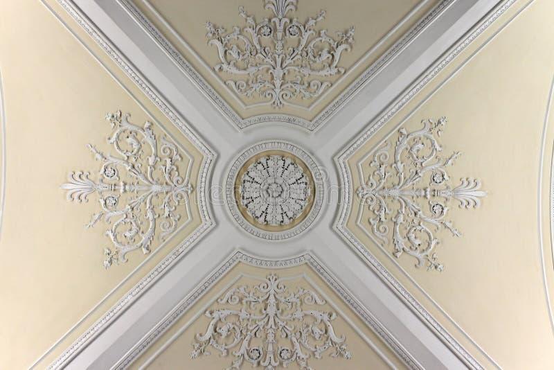 комната потолка augustus стоковая фотография rf