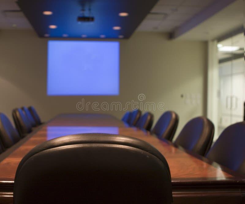 комната правления стоковое изображение