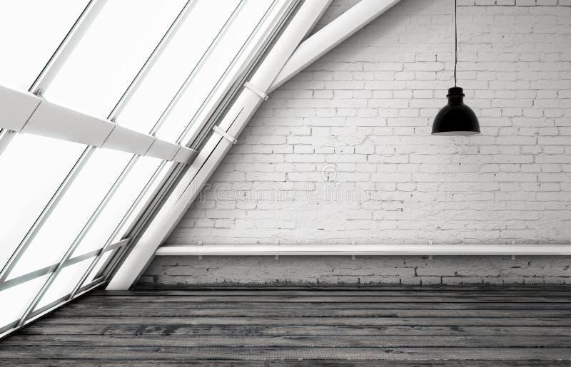 Комната просторной квартиры бесплатная иллюстрация