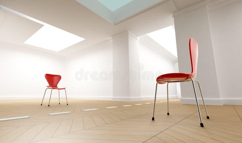 комната разделения иллюстрация вектора