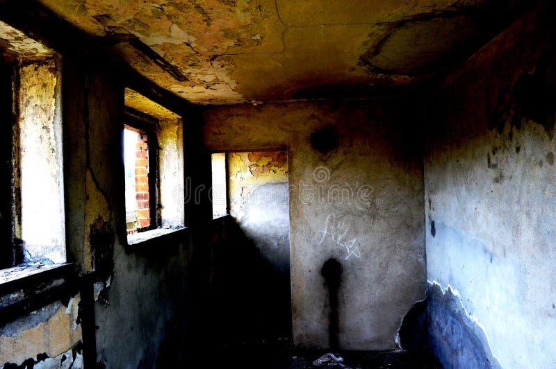комната страшная стоковые фотографии rf
