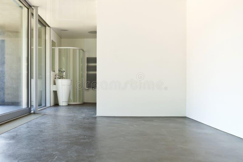Комната с ванной комнатой стоковая фотография rf