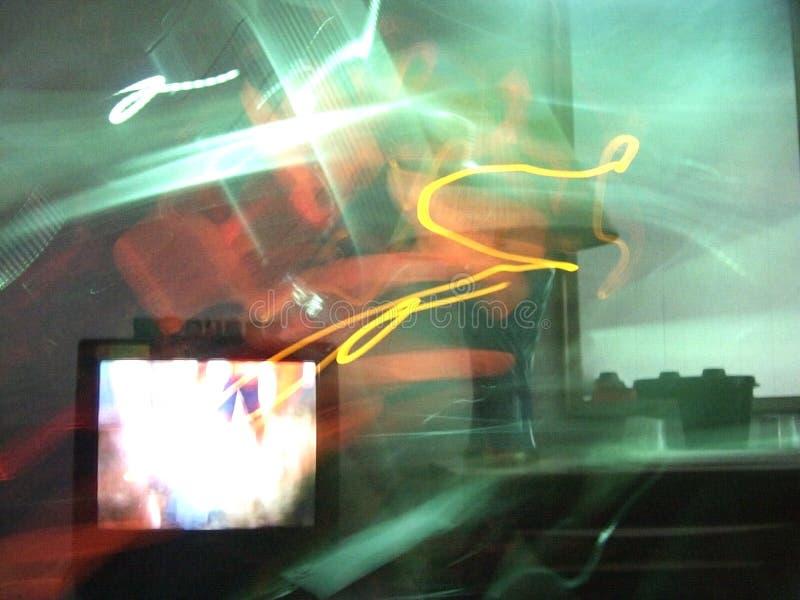 Комната с телевизором стоковые фото