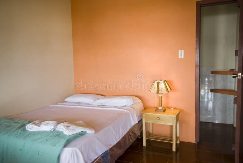 комната уроженца montanita гостиницы эквадора стоковые фото