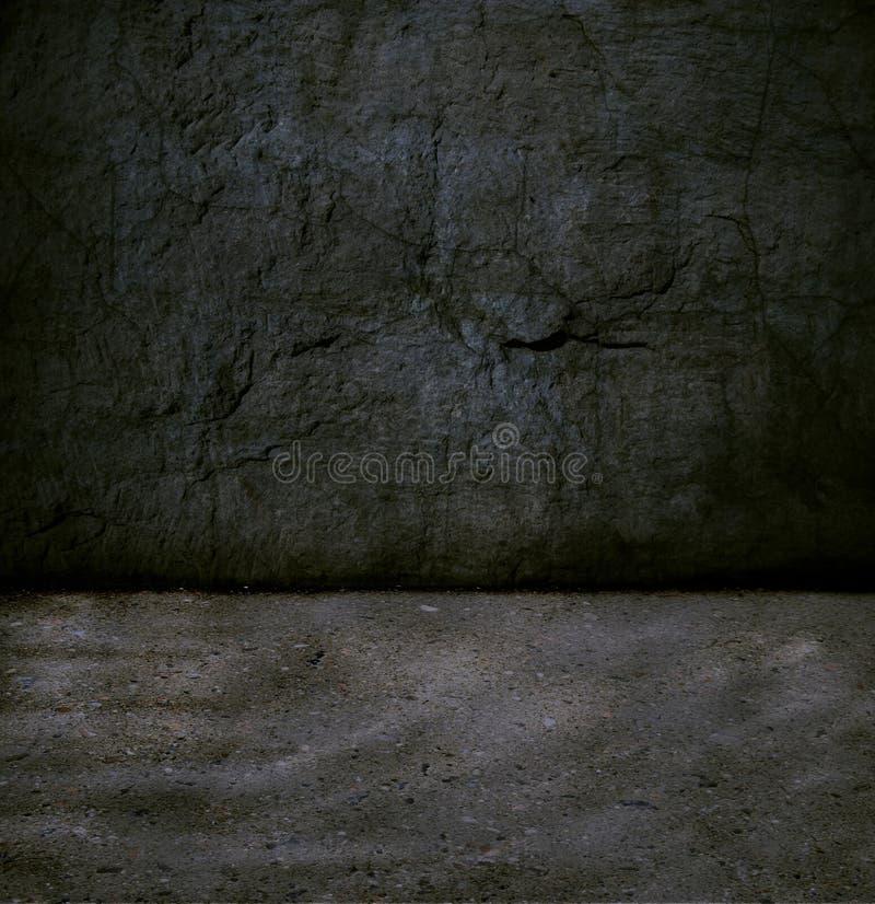 комната grunge стоковое изображение