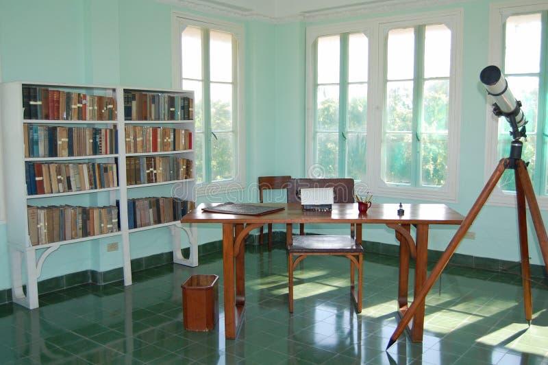 Комната Hemingway стоковые изображения rf