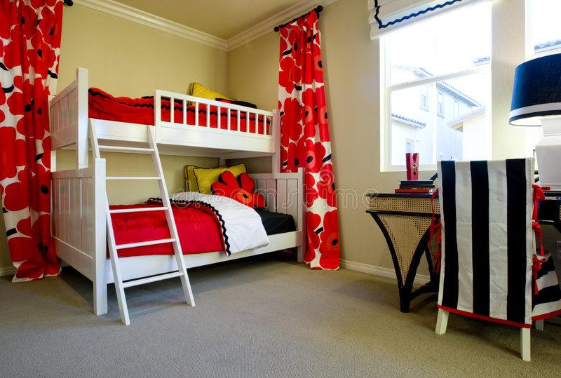 комната s девушки стоковое фото